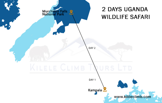 2 Days Uganda Wildlife Safari